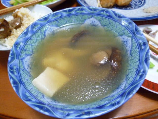鮑のスープ