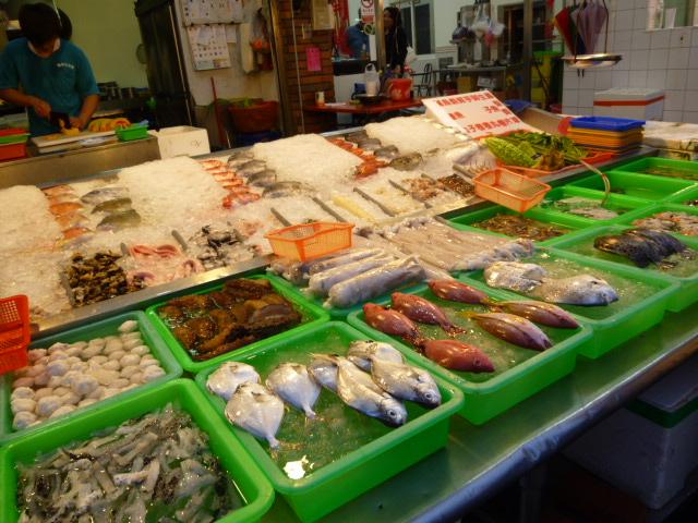 旗津海産物