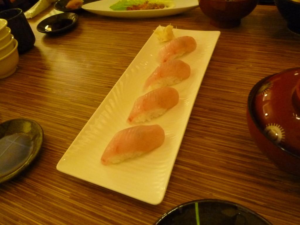 江戸前寿司 義郎 創作寿司 20120201