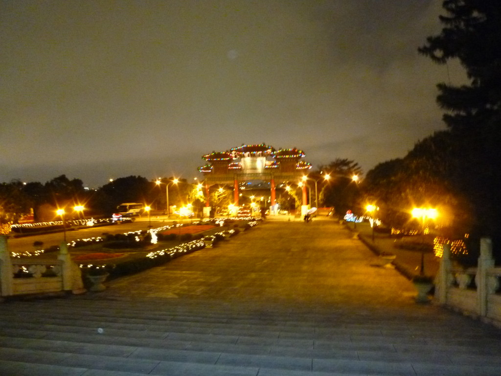 夜の圓山大飯店 グランドホテル(The Grand Hotel) 20120203