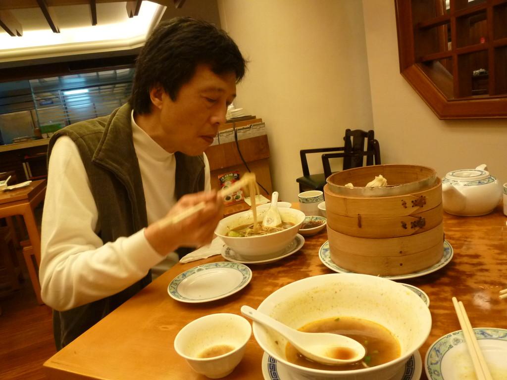 圓苑 牛肉麺 圓山大飯店 20120202